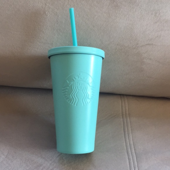 819192cb591 Starbucks Tiffany Blue Grande Tumbler Boutique